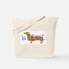 weenie dog dachshund  Tote Bag