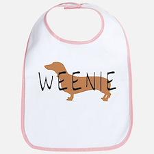 weenie dog dachshund Bib
