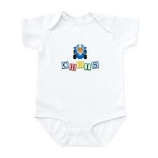 Chris Race Car Infant Bodysuit