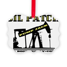 Oil Jack A4dd trsp Ornament