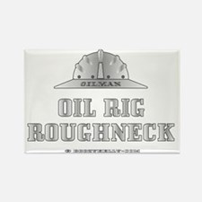 Oil Rig Roughneck A4 ZZCv using a Rectangle Magnet