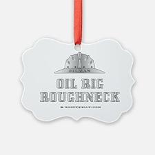 Oil Rig Roughneck A4 ZZCv using a Ornament