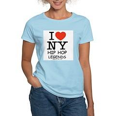 NY Women's Pink T-Shirt