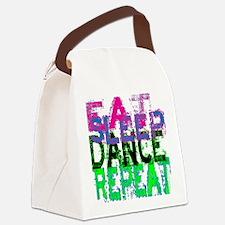 eat sleep dance repeat 3 copy Canvas Lunch Bag