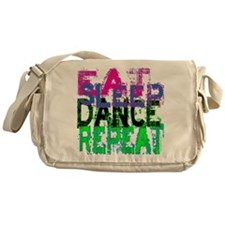 eat sleep dance repeat 3 copy Messenger Bag