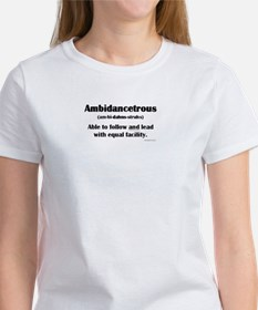 Ambidancetrous Women's T-Shirt