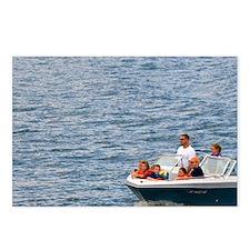 Boating on Luck Peak Lake Postcards (Package of 8)