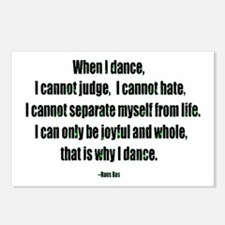 Why I Dance Postcards (Package of 8)