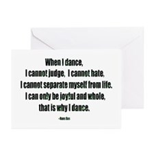 Why I Dance Greeting Cards (Pk of 10)