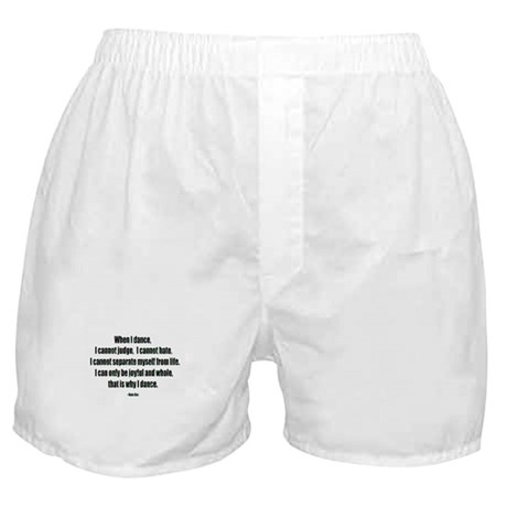 Why I Dance Boxer Shorts