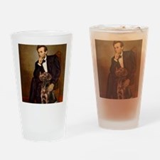 MP-Lincoln - Chocolate Labrador 11- Drinking Glass