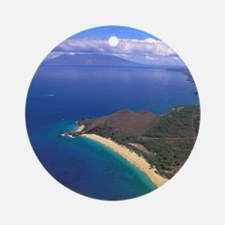 Makena Beach, Makena, Maui, Hawaii Round Ornament