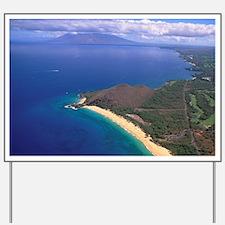 Makena Beach, Makena, Maui, Hawaii Yard Sign