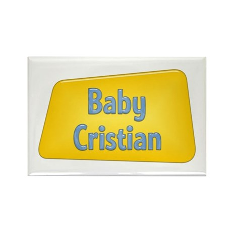 Baby Cristian Rectangle Magnet (100 pack)