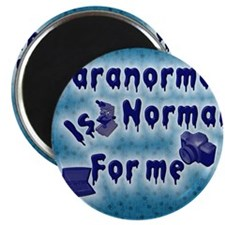 Paranormal is normal Magnet