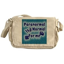 Paranormal is normal Messenger Bag