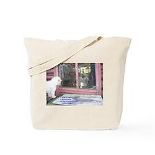 Whimsical Bichon Tote Bag