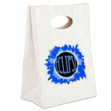 eclipse blue Canvas Lunch Tote