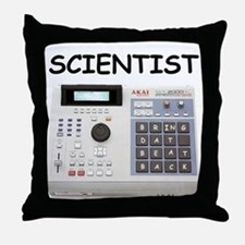 SCIENTIST Throw Pillow