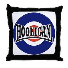 Hooligan_BullseyeNOV2010 Throw Pillow