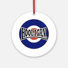 Hooligan_BullseyeNOV2010 Round Ornament