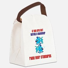 DATING A SWIMMER 1 Canvas Lunch Bag