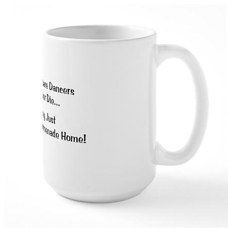 Square Dancers Never Die Large Mug