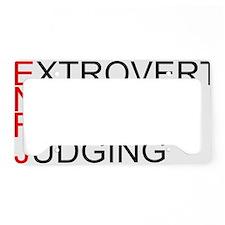 ENFJ.gif License Plate Holder