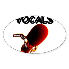 VOCALS Oval Decal