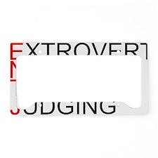 ENTJ.gif License Plate Holder
