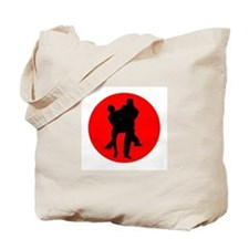 Red Moon Dancers Tote Bag