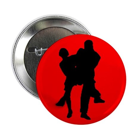 "Red Moon Dancers 2.25"" Button"