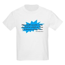 Day Lost Without Dancing Kids T-Shirt