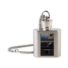 tricorder Flask Necklace