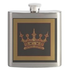 GoldleafCrownBsf Flask