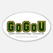 GoGoU - Oval Decal