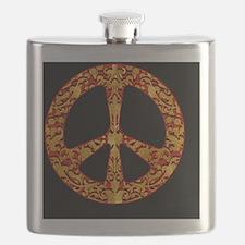 GoldLeafPeaceBp Flask
