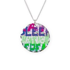 eat sleep dance repeat for b Necklace