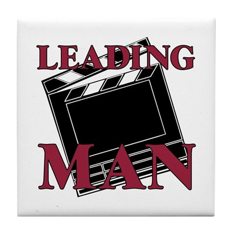 Leading Man Actor Drama Thespian Tile Coaster