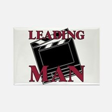 Leading Man Actor Drama Thespian Rectangle Magnet