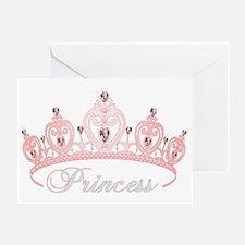 princess crown Greeting Card