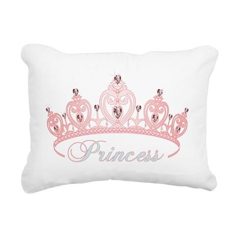 Princess Crown Rectangular Canvas Pillow By Admin Cp704804
