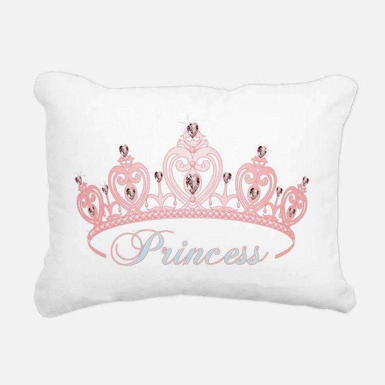 princess crown Rectangular Canvas Pillow