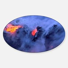 Kilauea Volcano Hawaii Volcanoes Na Decal