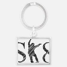 sk8_patinador_3_light Landscape Keychain