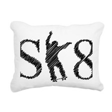 sk8_patinador_3_light Rectangular Canvas Pillow