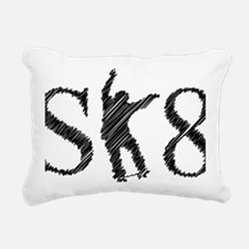 sk8_patinador_3_light Rectangular Canvas Pillow