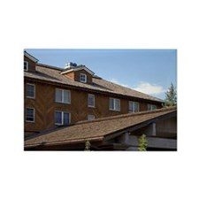 The Sun Valley Lodge located in S Rectangle Magnet