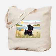 Rowboat & Scottie Tote Bag