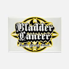 Bladder-Cancer-Tribal Rectangle Magnet
